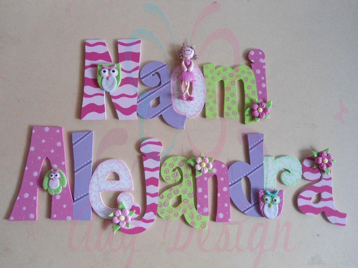 Pinterest letras decoradas buscar con google letras de - Letras de madera decoradas ...