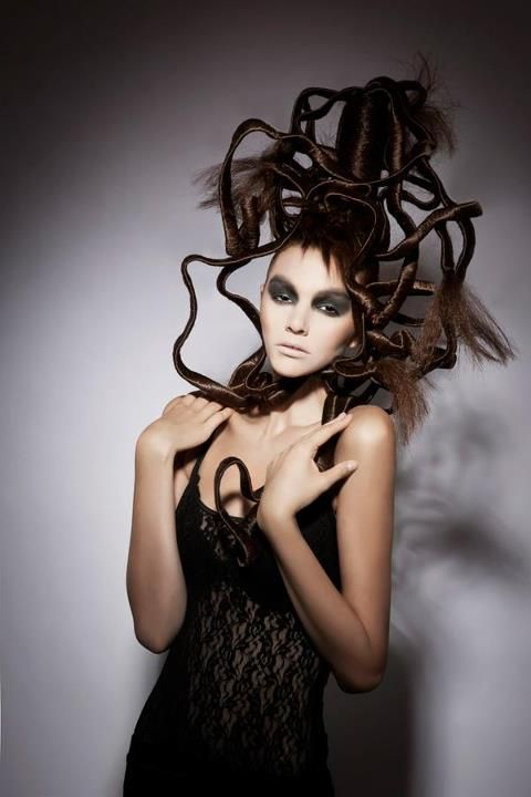 creative hair design inspirational
