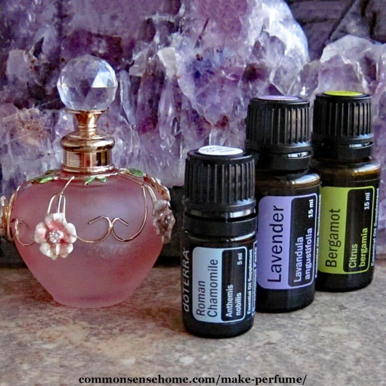 Make Your Own Perfume - Blends for Stress Relief & More ...