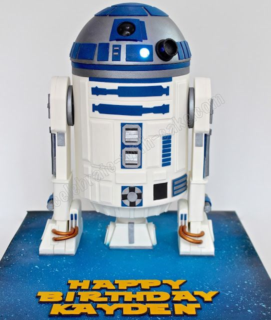 Celebrate with Cake!: Star Wars R2D2 … | Pinterest