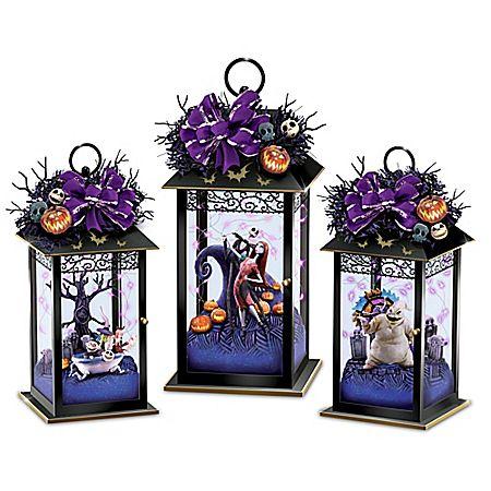 Disney Nightmare Before Christmas Centerpiece Collection | Halloween ...