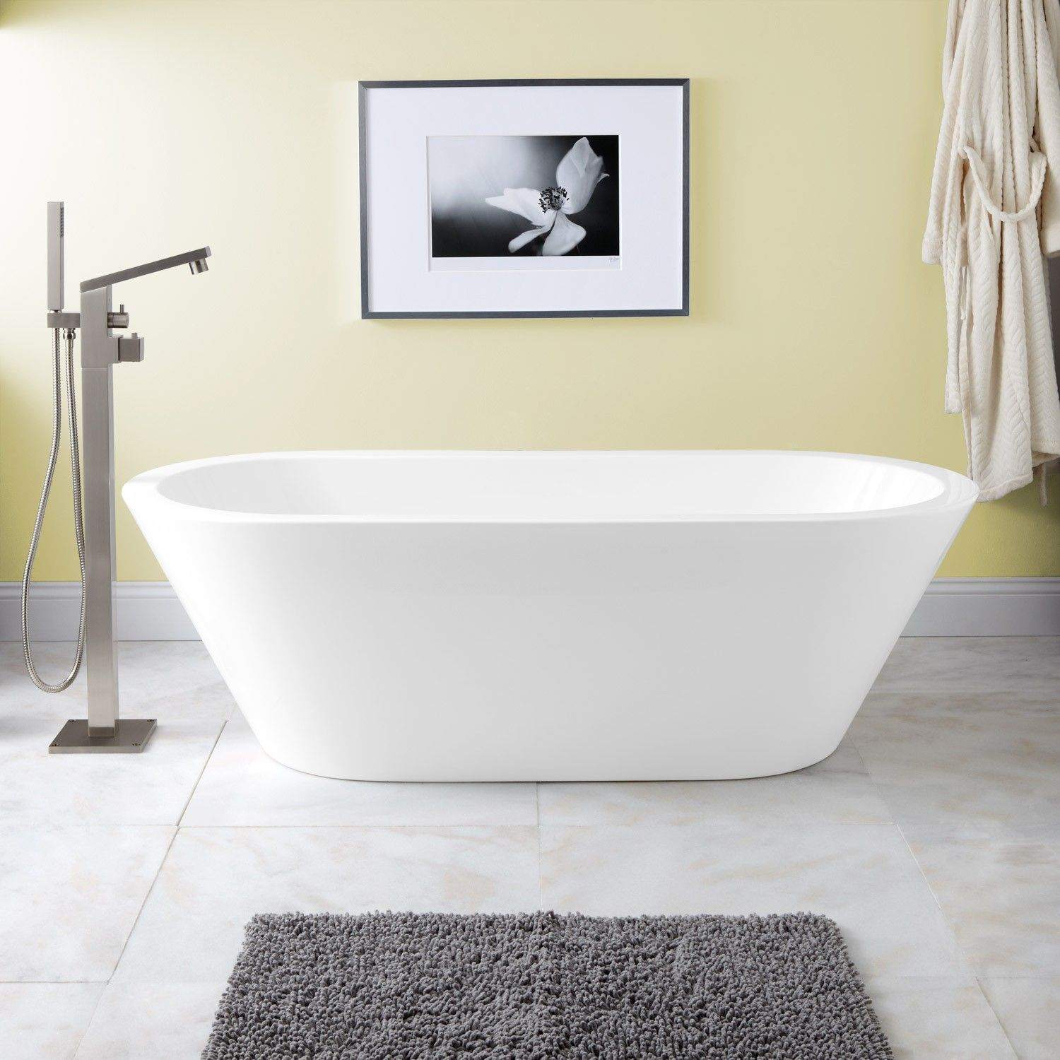 Collette Acrylic Freestanding Tub | Freestanding tub, Tubs and Bath