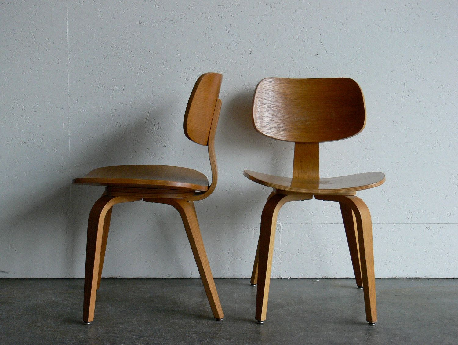 Vintage bentwood chairs - Vintage Mid Century Modern Thonet Plywood Chair Set Of 2 Modern Plywood And Plywood Chair