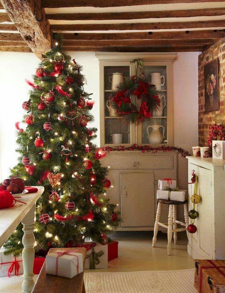 Cottage style Christmas Winter wonderland and holidays Pinterest - christmas home decor