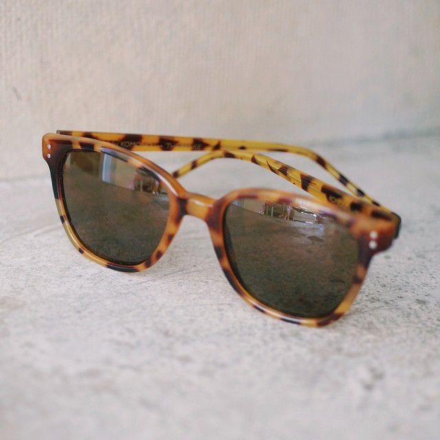 ce9aad8379d Komono Renee in the Giraffe colorway. The frame that fits every face.   komono  sunglasses
