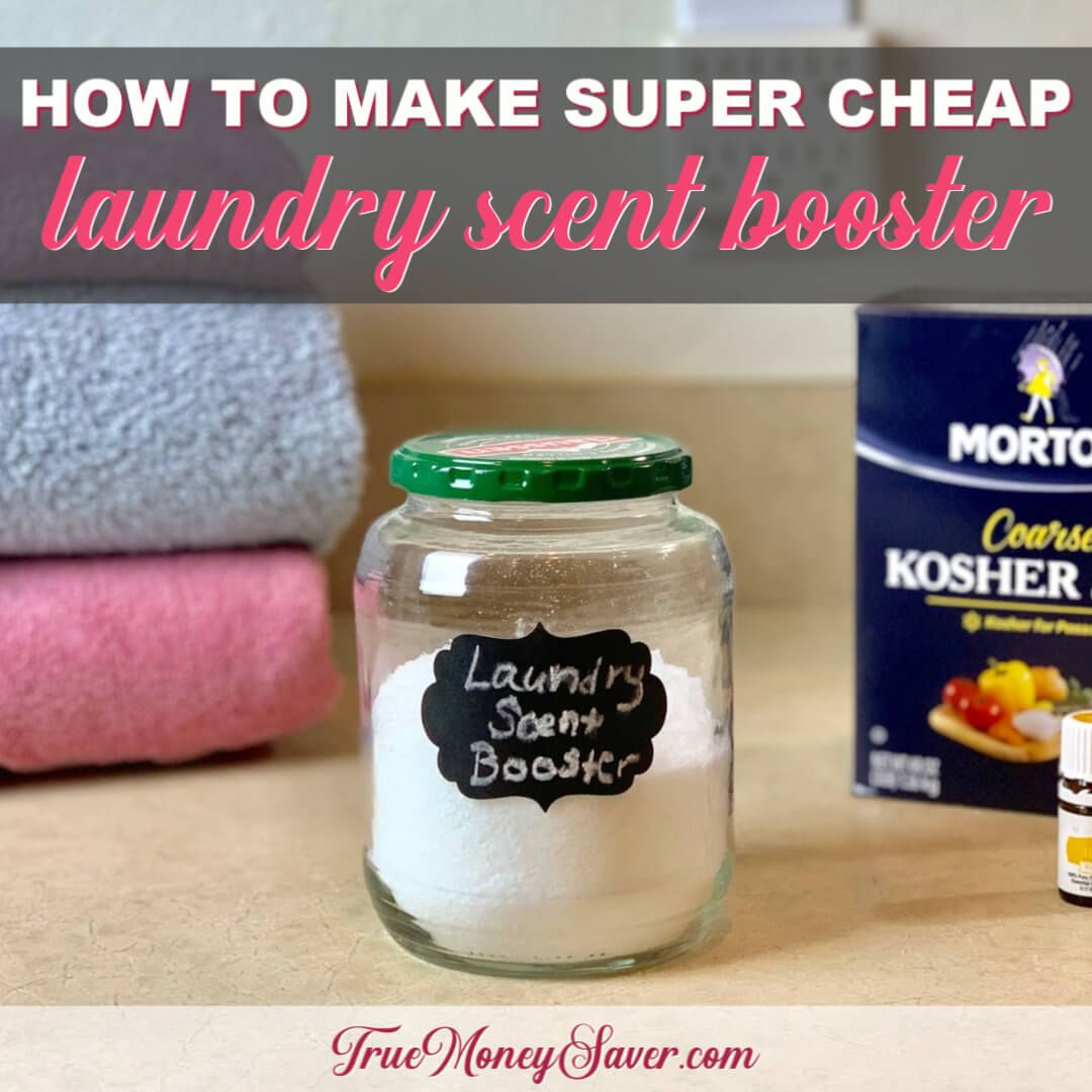 With This All Natural Laundry Scent Boosters You Ll Love The