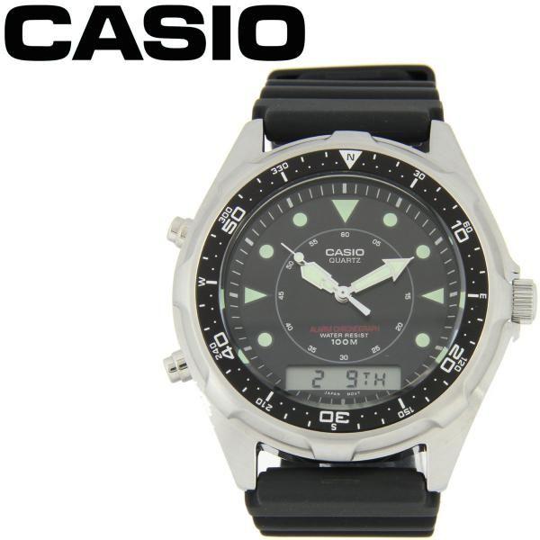 Casio Digital Resin Band Mens Watch