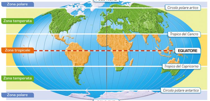 Cartina Mondo Tropici.Arbitro Citta Min Cartine Geografiche Fasce Climatiche Americhe Settimanaciclisticalombarda It