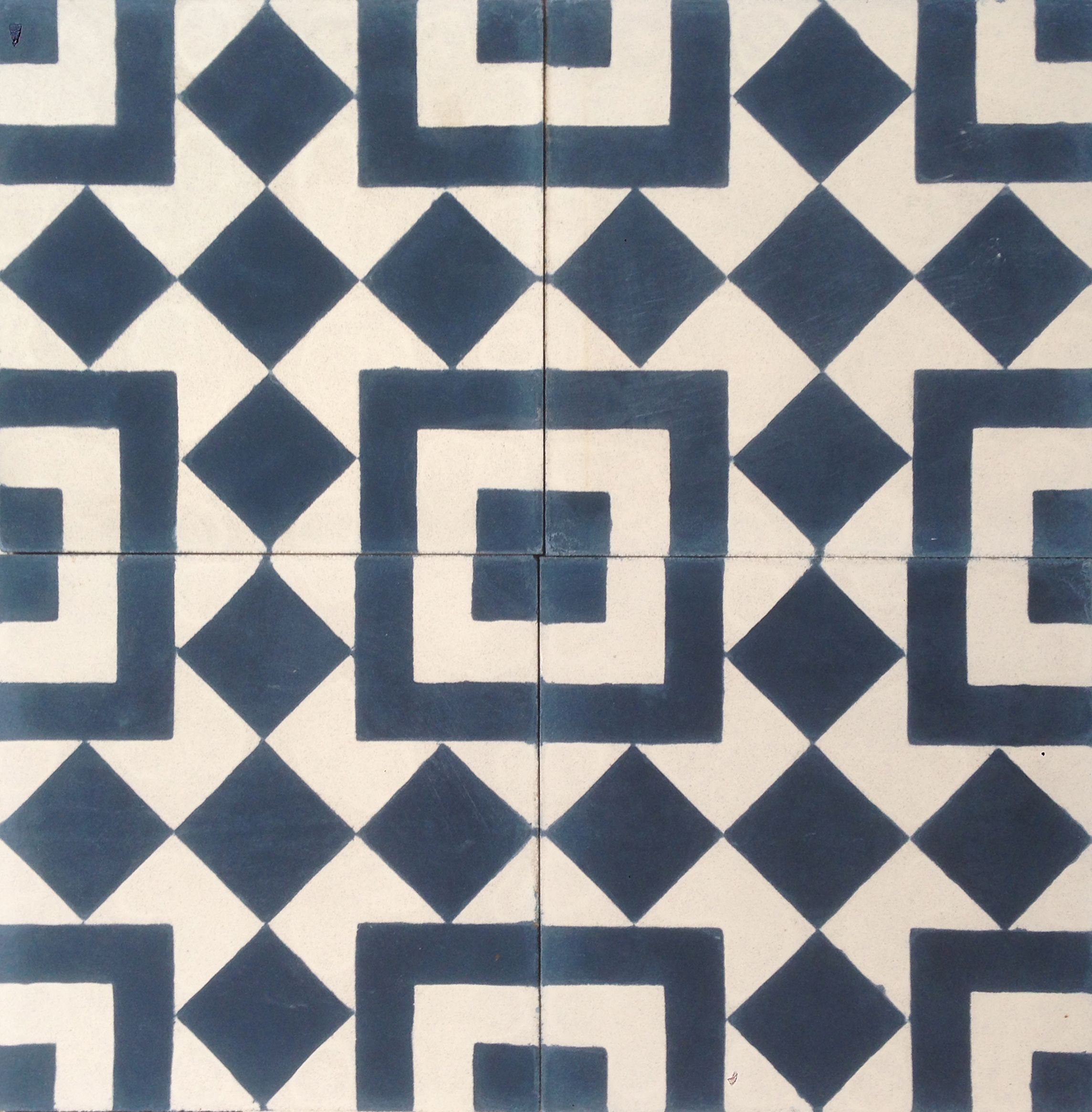 Balboa marine encaustic cement tile texturespatterns geometry balboa marine encaustic cement tile dailygadgetfo Images