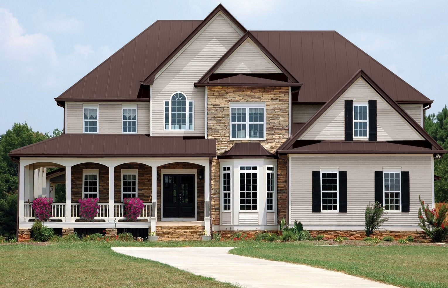 Personalize Your Home With Premium Pro Rib Steel Panel Available In Several Enticing Colors This Roofing Easy Installs Us Steel Roofing Roofing Steel Panels