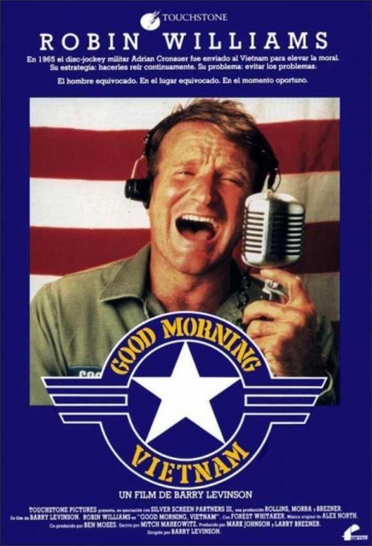 Good Morning Vietnam Movie Poster 1987 Coole Filme Filme Plakat