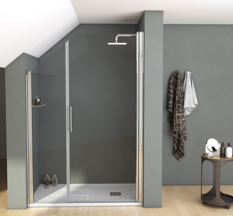 Mampara con recorte perfecta para cuartos de baño con ...