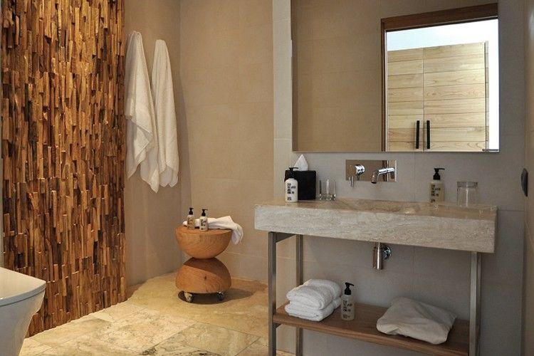 Holzwand Und 3d Beschichtungen In 31 Exklusiven Fotos Badezimmer