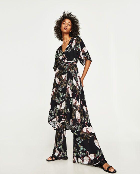 03cebddfd279 VESTIDO MIDI ESTAMPADO CINTURÓN | behöver | Fashion, Fashion dresses ...