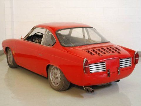 1958 Abarth Allemano 850 SVRA Vintage Race Car For Sale Rear