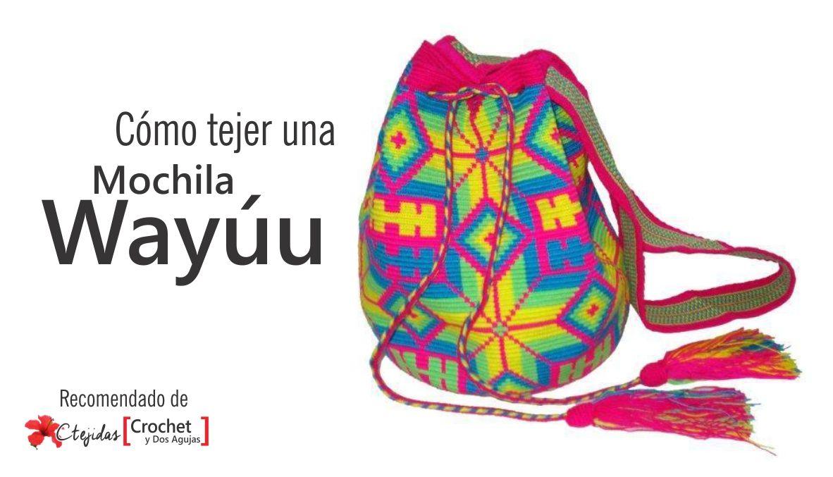 Como hacer mochila wayuu | Crochet | Pinterest | Como hacer mochilas ...
