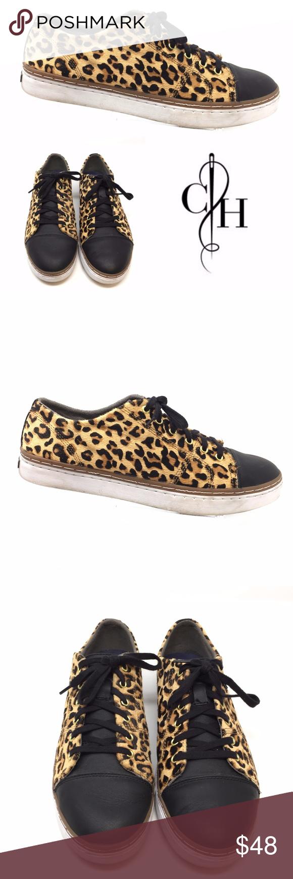 Leopard print sneakers, Cole haan shoes
