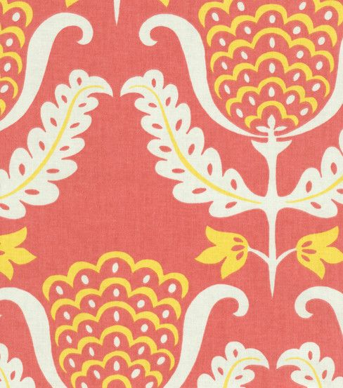 Home Decor Upholstery Fabric Waverly One Wish Azalea Home