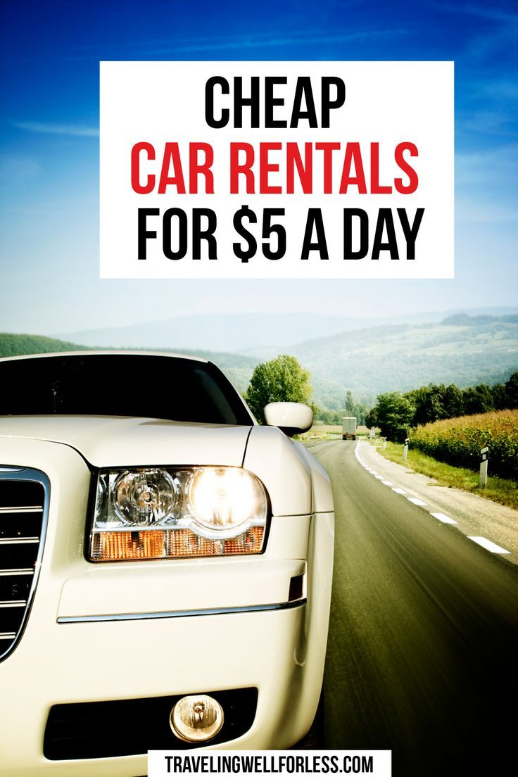 Time for a road trip! Did you know you can score cheap car rentals for less than $5 a day? Click through the post to learn more.   cheap car rentals } $5 a day car rentals   travel tips   travel deals   travel hacks   frugal travel tips   travel more for less   travelwell4less   travel hacking   TravelingWellForLess.com#travel#traveldeals #travelhacks#travelhacking#travelwell4less