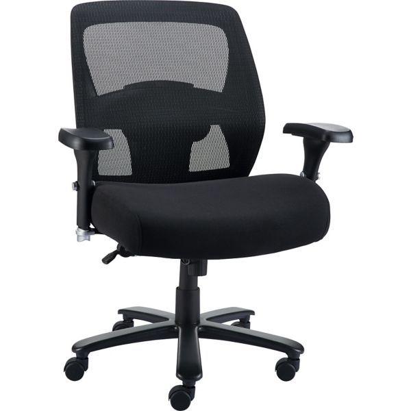 Staples Driscott Mesh Big And Tall Chair Black At Staples Tall Chairs Big Office Chairs Tall Office Chairs