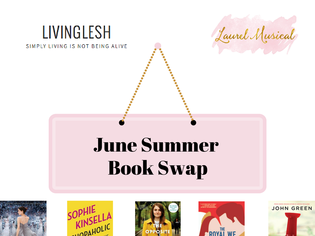 Laurel Musical's June Summer Book Swap - www.laurelmusical.com