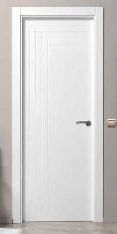 Puertas lacadas puerta lacada b534 tarima piso - Puertas blancas lacadas ...