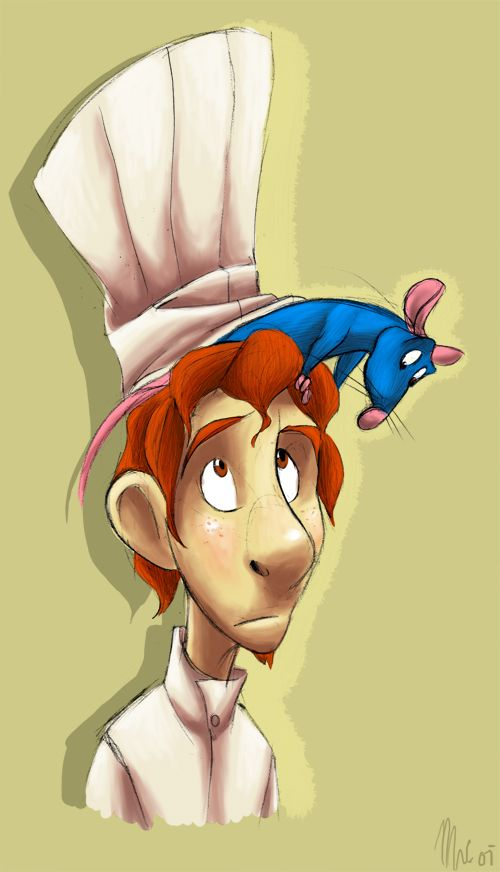 Remy And Linguini By Sketchinthoughts Disney Fan Art Cute Disney Wallpaper Disney Pixar Movies