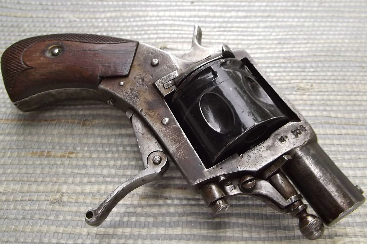 British Bulldog Revolver.