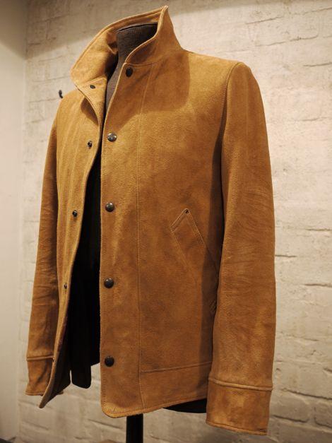 b1fa8755390 Deer skin suede jacket by PHIGVEL.