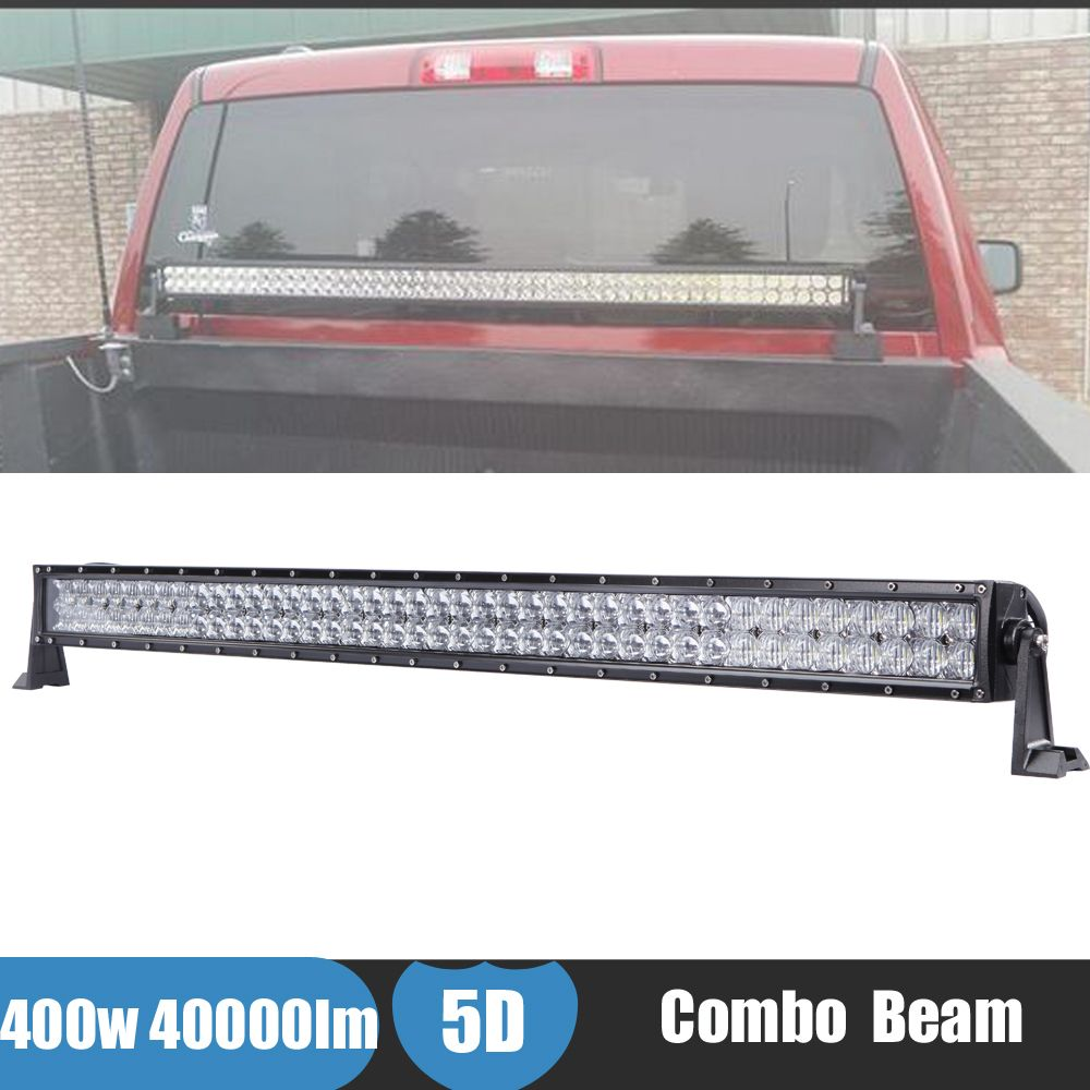 400w 5d Led Light Bar Offroad 4x4 4wd Driving Fog Car Boat Atv Din Cd Stereo Canbus Wiring Fitting Kit Fascia Stalk Ebay Ute Work For Jeep Renegade Rollback Wrecker