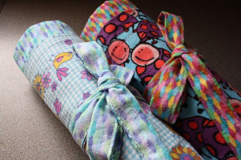 ExtraLarge, Reversible Receiving Blankets Tutorial