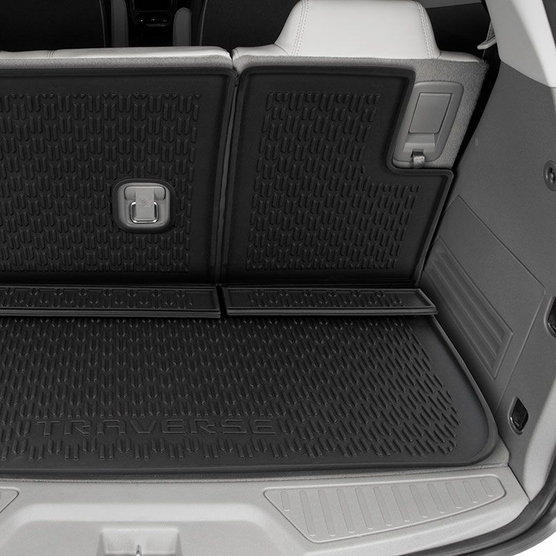 Fantastic 2016 Traverse Cargo Liner Tray Black 84004130 Chevrolet Bralicious Painted Fabric Chair Ideas Braliciousco