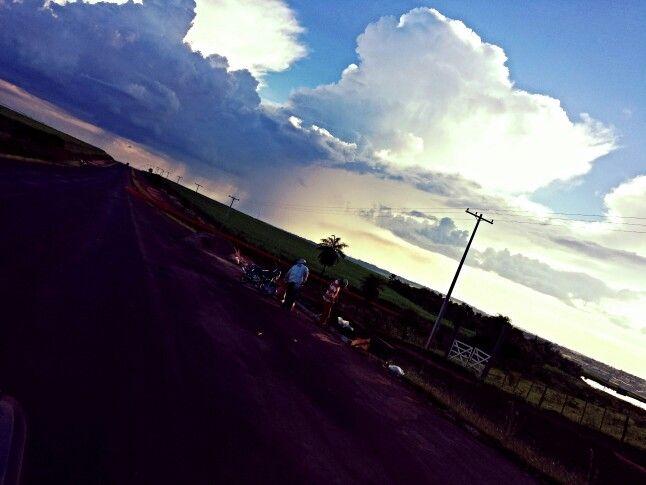Ruta Caaguazú, Yhú. A la altura del acceso a Yacarei y Ypyta