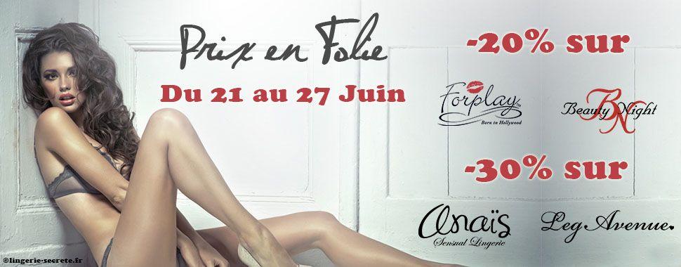 Des milliers d'articles en promo sur www.lingerie-secrete.fr