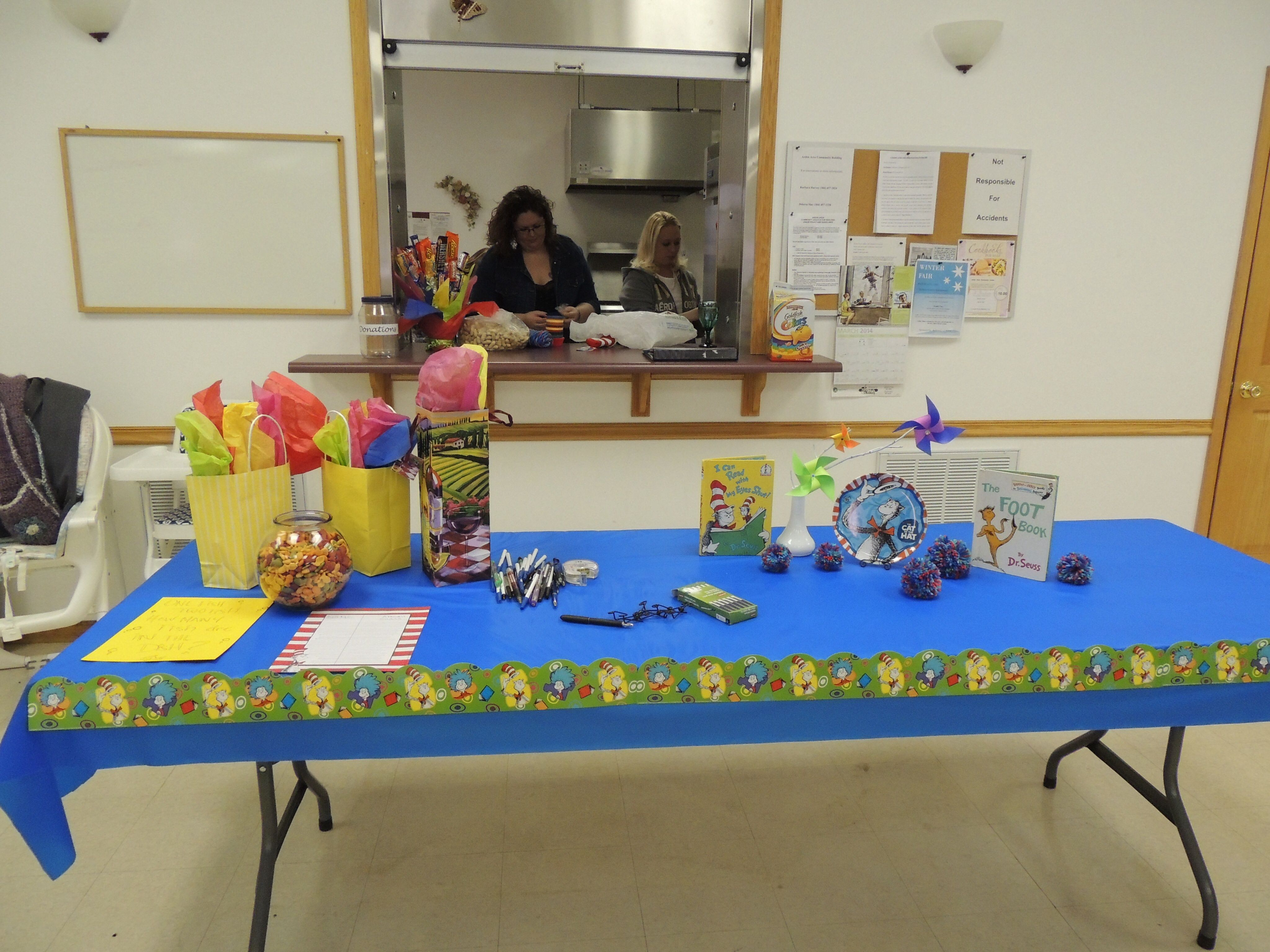 Game and prize table