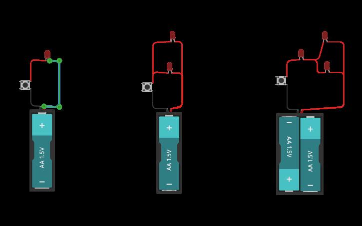 Circuitos En Serie Paralelo Y Mixto Circuit Design Circuit 3d Design