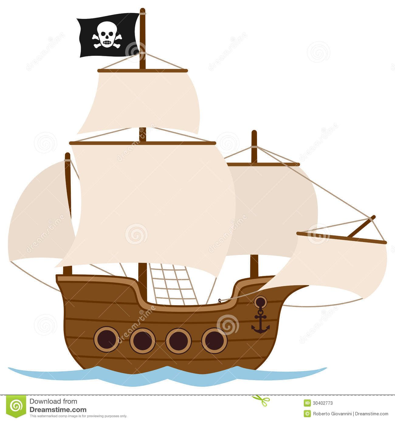 https thumbs dreamstime com z pirate ship sailing boat old
