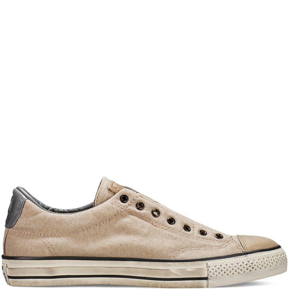 793c0c9b6881 CONVERSE John Varvatos Vintage Slip Low Trainers Sand 151270C SZ US M 11.5  EU 46  ConversebyJohnVarvatos  Sneaker