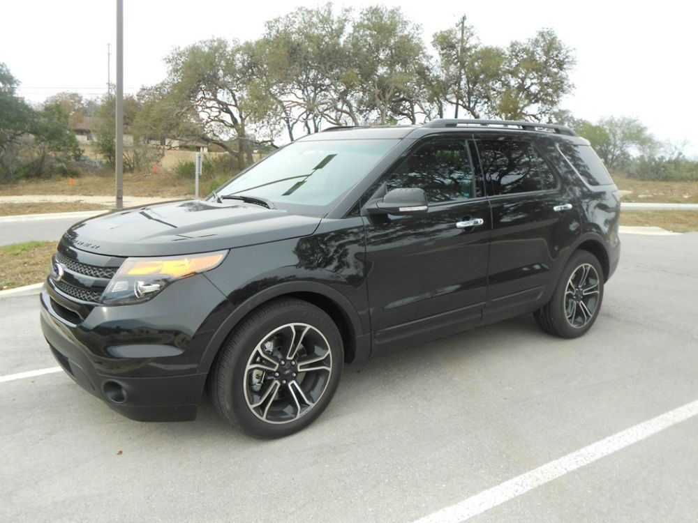 ford explorer sport black cant - Ford Explorer 2012 Black