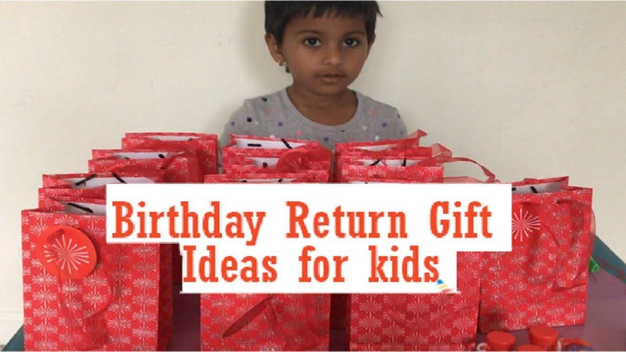 Birthday Party Return Gift Ideas For Kids Preschool Kids B