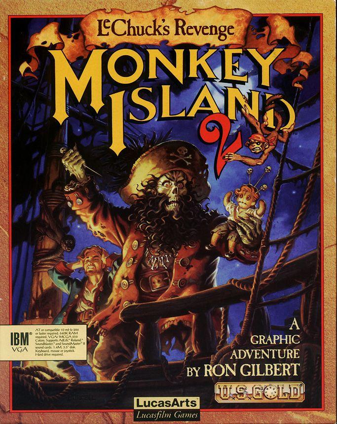 Monkey Island 2 Lechuck S Revenge Pc Digitalis Olympia Juegos