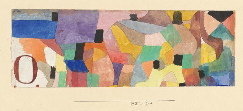 1915 : Paul Klee – Polyphonies