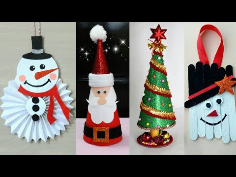 Last Minute Christmas Decoration Ideas Christmas Crafts For Kids Christmas Home Decoration Christmas Arts And Crafts Christmas Crafts Christmas Decorations