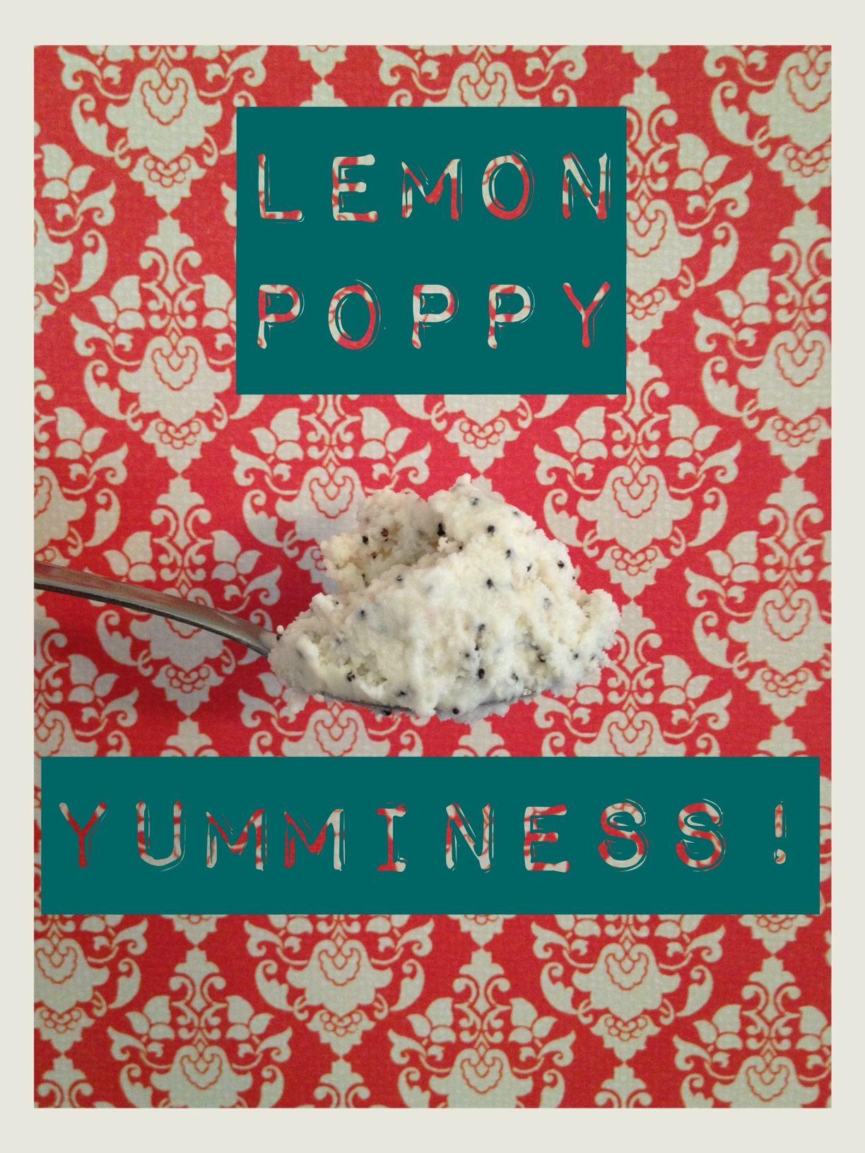 Poppy Ice Cream