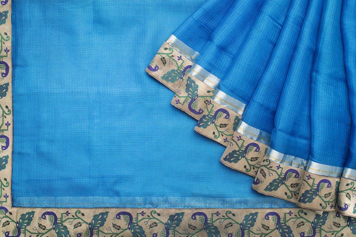 Ghanshyam Sarode Kota Silk saree