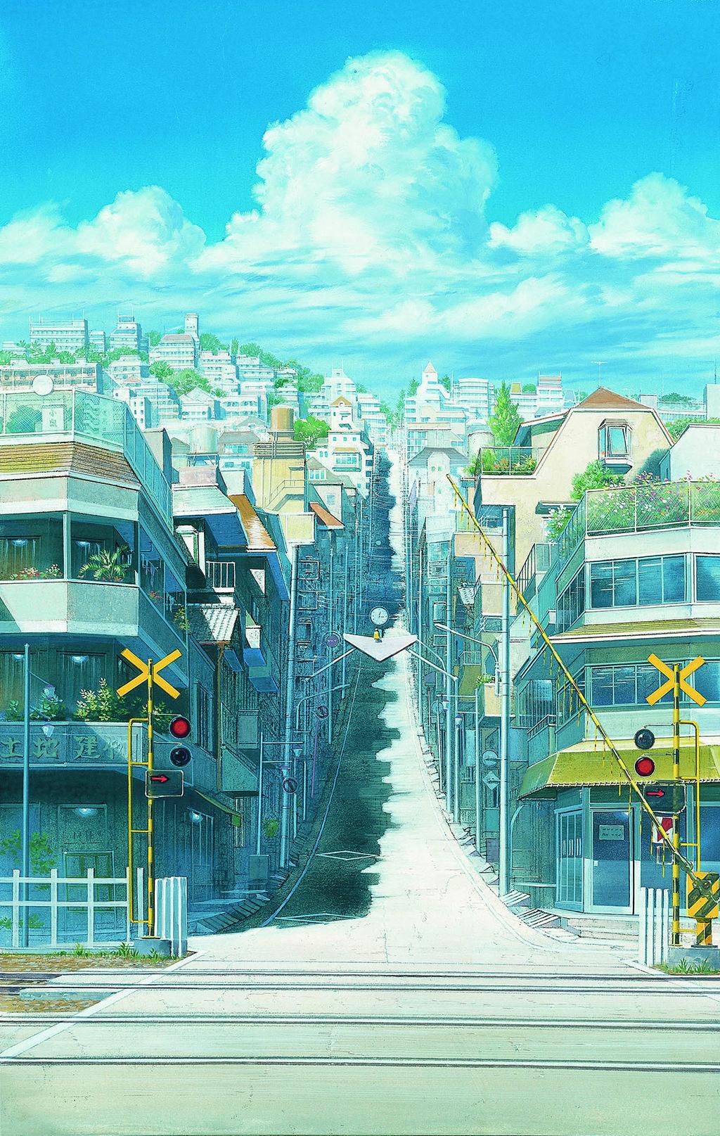 細田守 時をかける少女 アニメの風景 風景デッサン 風景