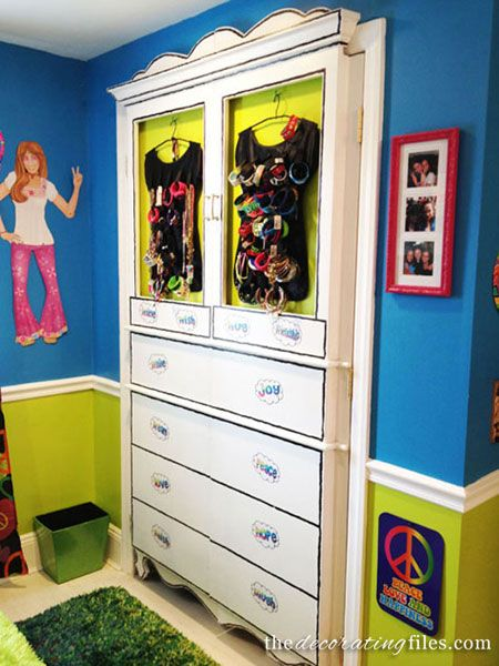 Closet Door Ideas: These Closet Doors Have Been Designed To Look Like A  Whimsical Armoire