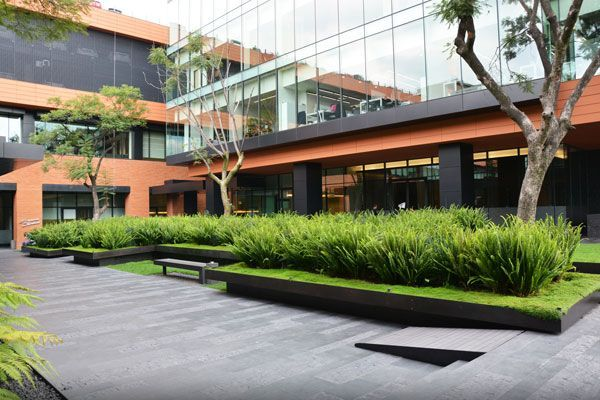 Coyoacán Corporate Campus, by DLC, in Mexico City, Mexico.