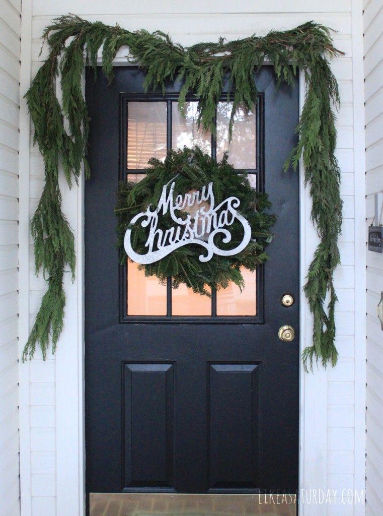 Christmas Porch//
