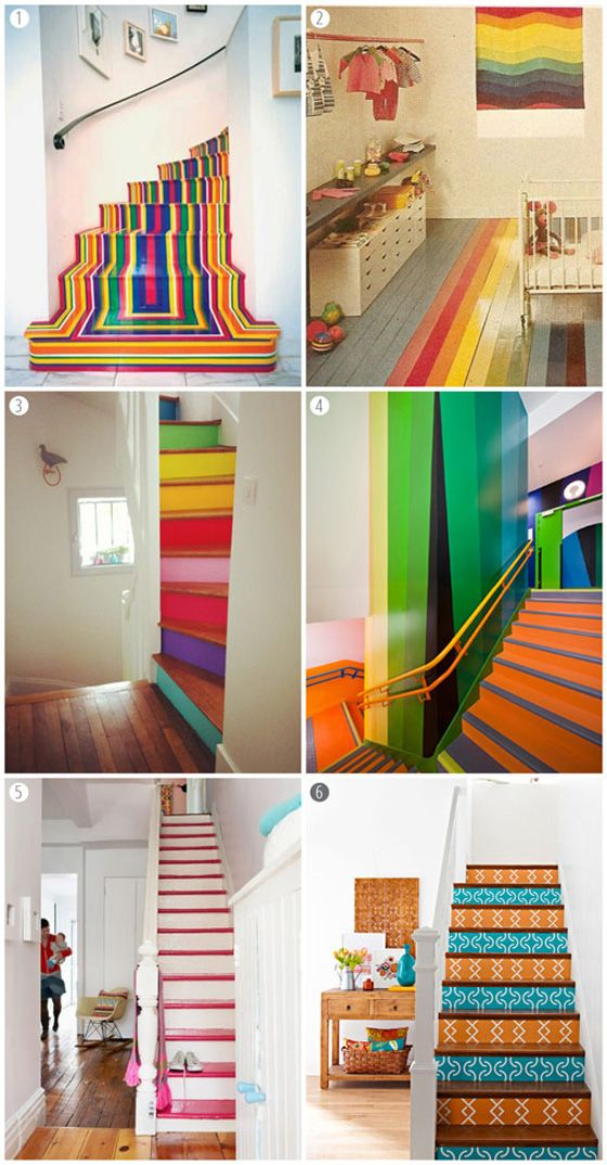 mrs print's blog: DIY painted stairs